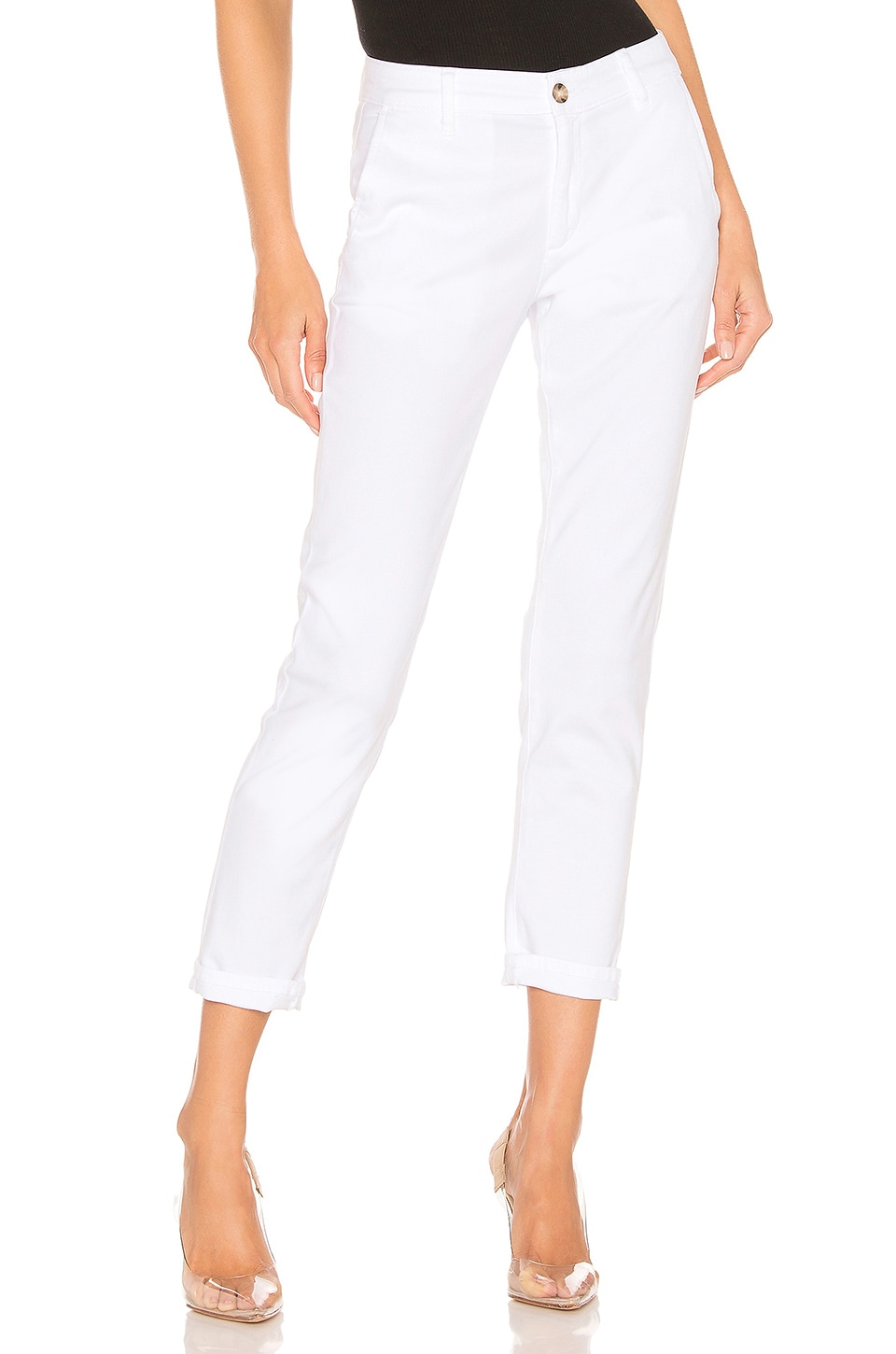 AG Adriano Goldschmied Caden Chino in White