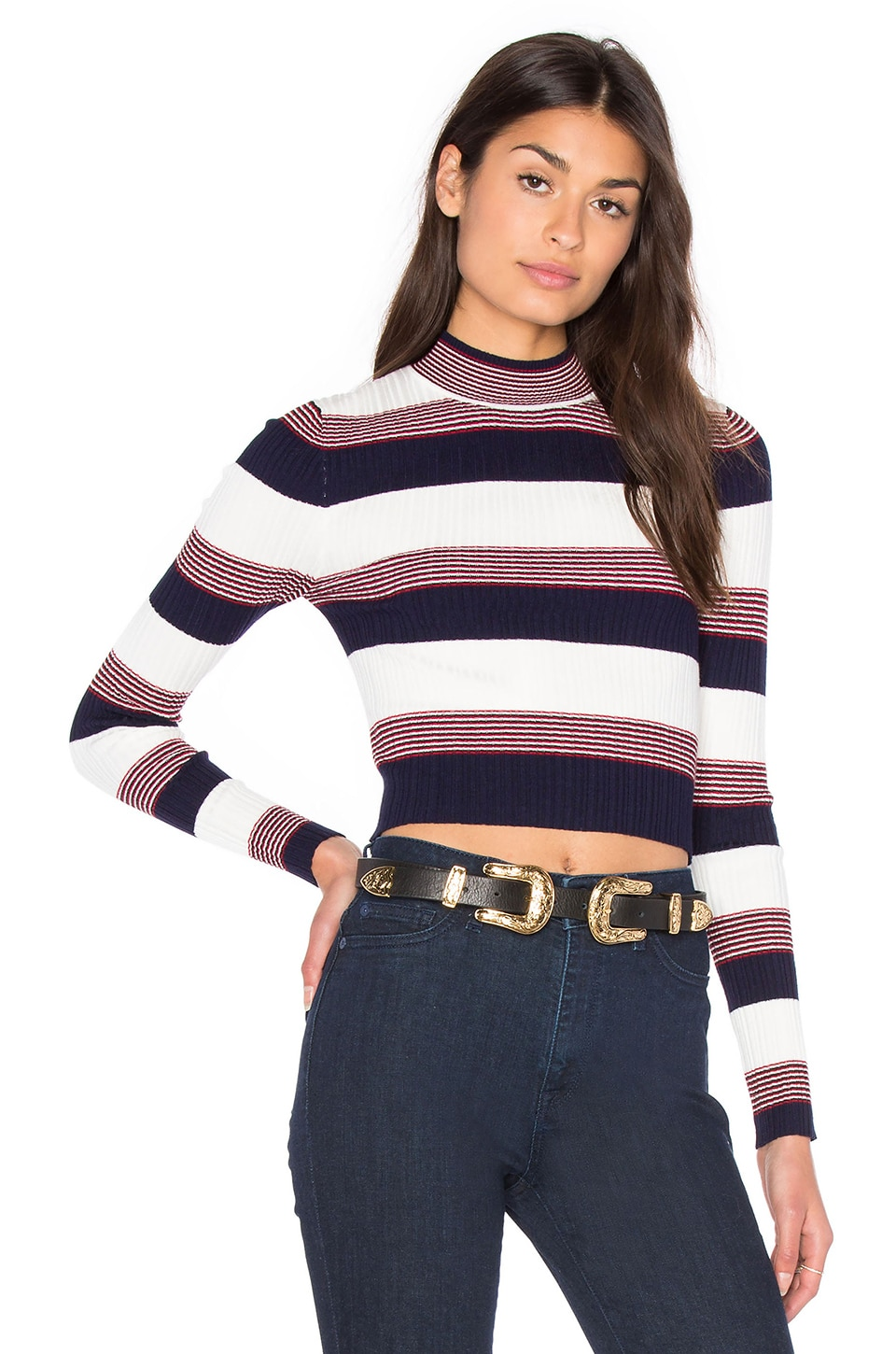 Winona Cropped Sweater by AGAIN