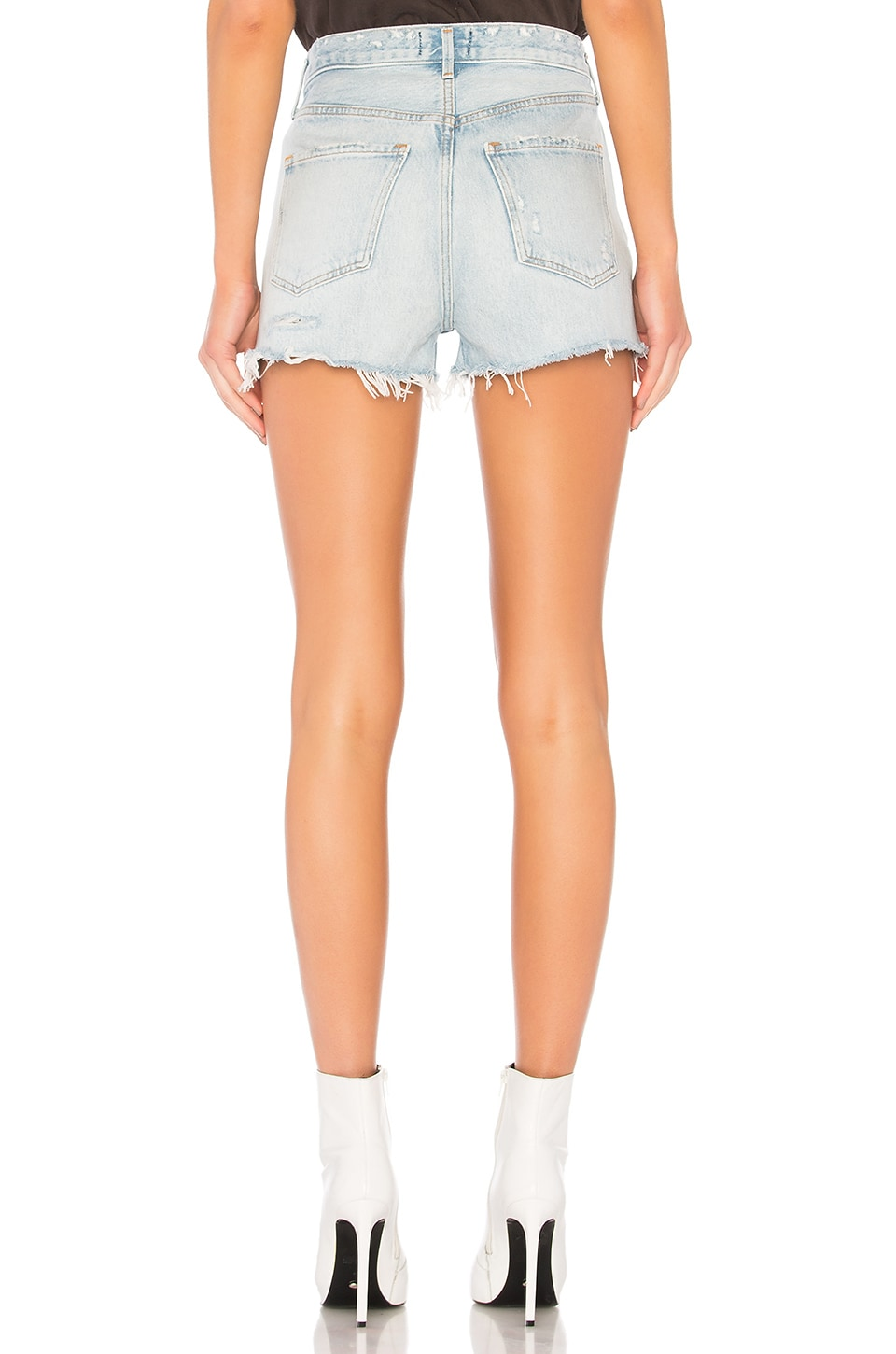 Jaden High Rise Shorts, view 3, click to view large image.
