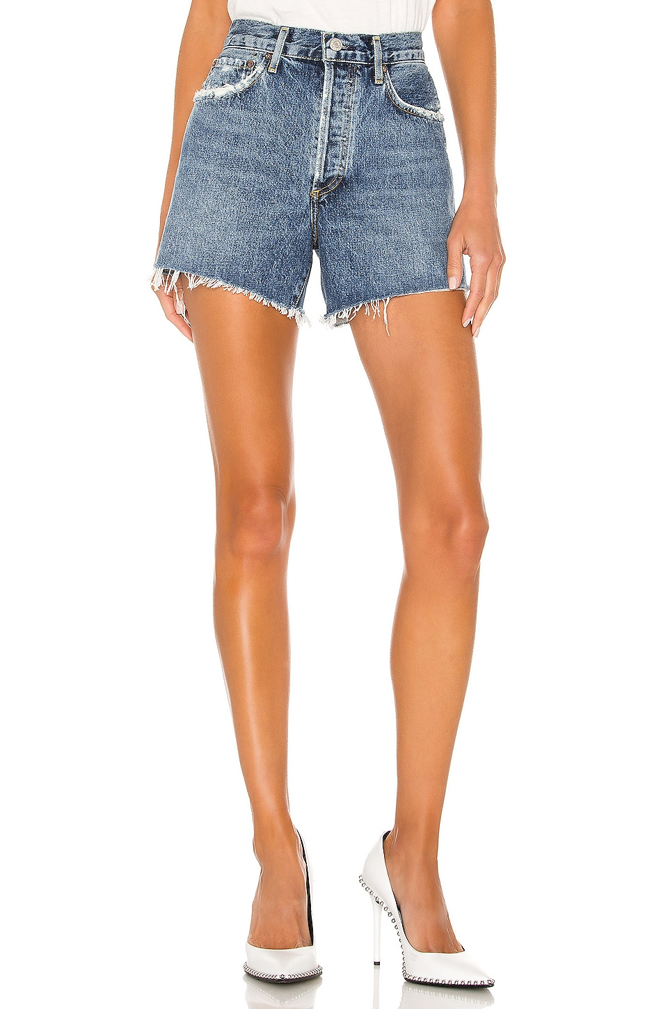 Denim Couture Large Star Shorts