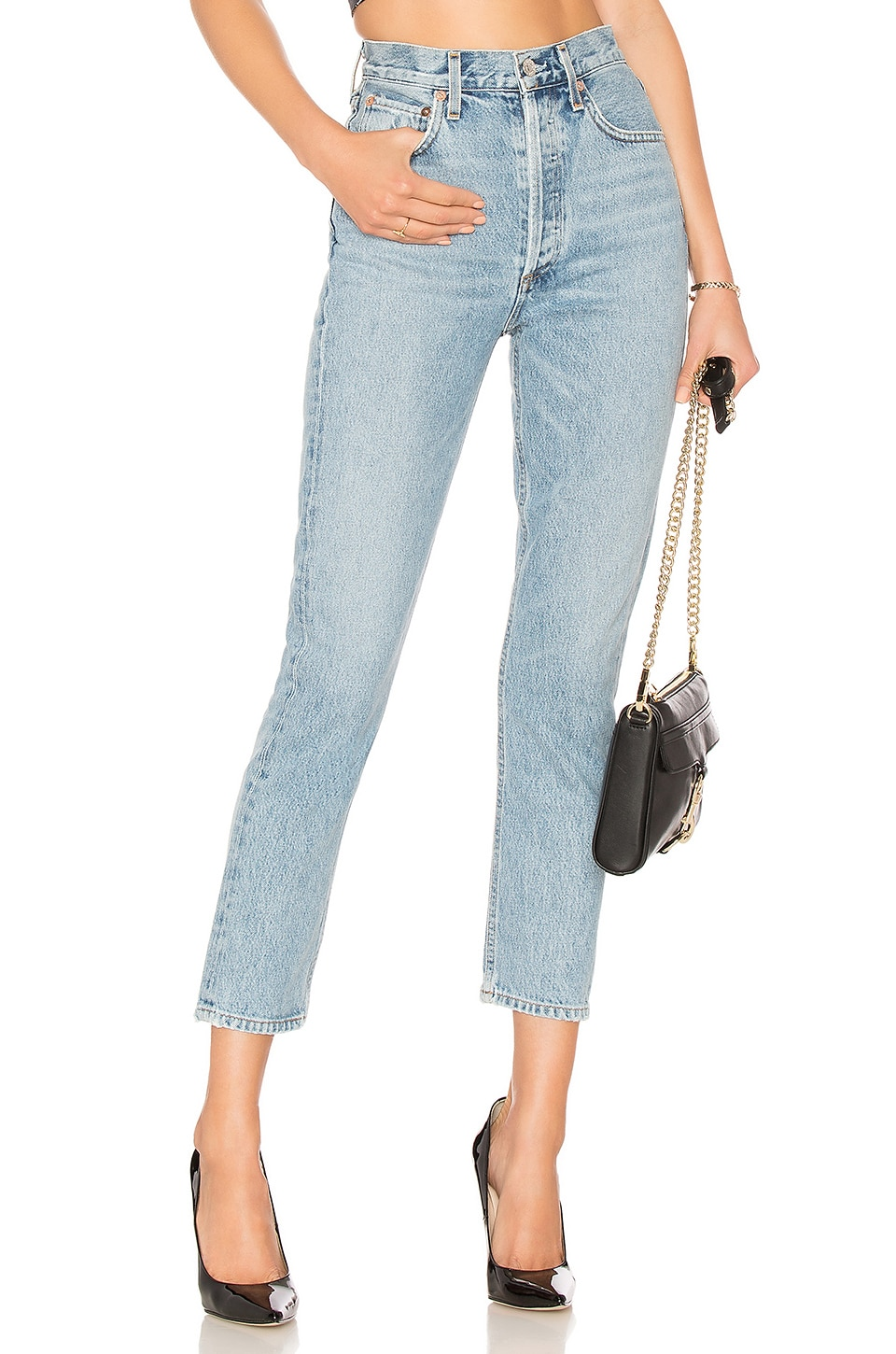 Riley High Rise Straight Crop             AGOLDE                                                                                                       CA$ 267.30 2