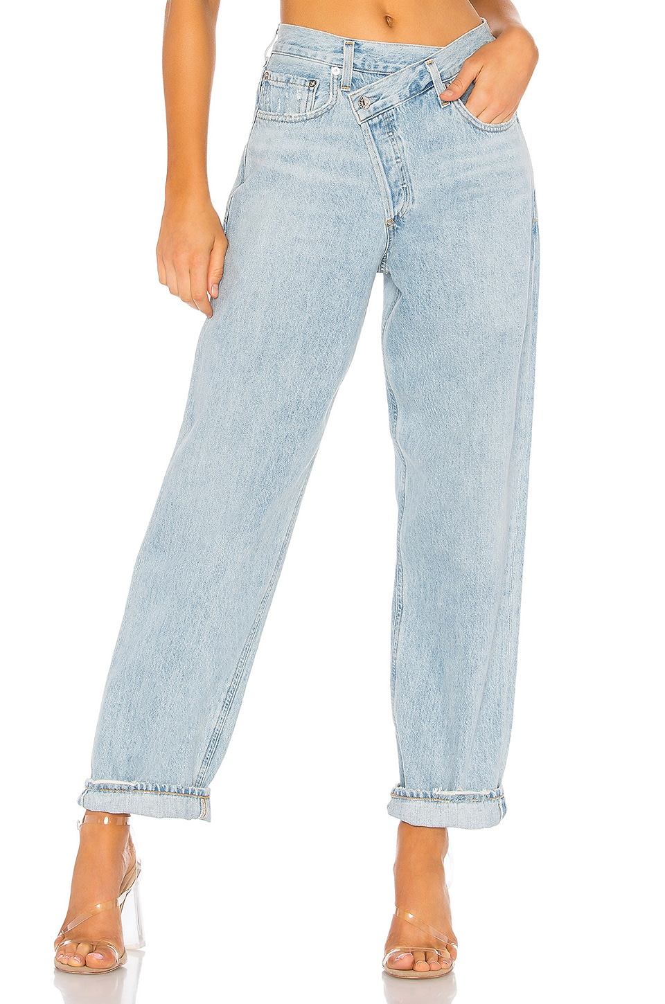 Criss Cross Upsized Jean             AGOLDE                                                                                                       CA$ 254.00 8