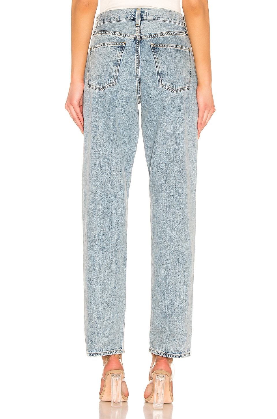 Agolde Jeans Baggy Oversized Jean With Pleats