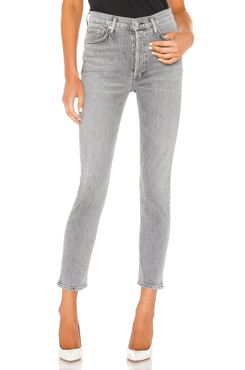 AGOLDE Nico High Rise Slim in Foretold