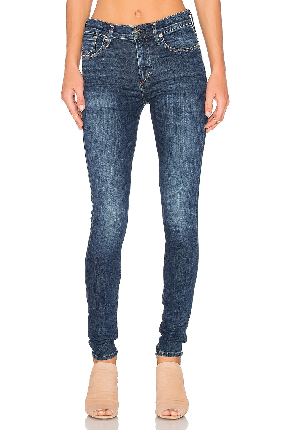 AGOLDE JEAN SKINNY TAILLE HAUTE SOPHIE