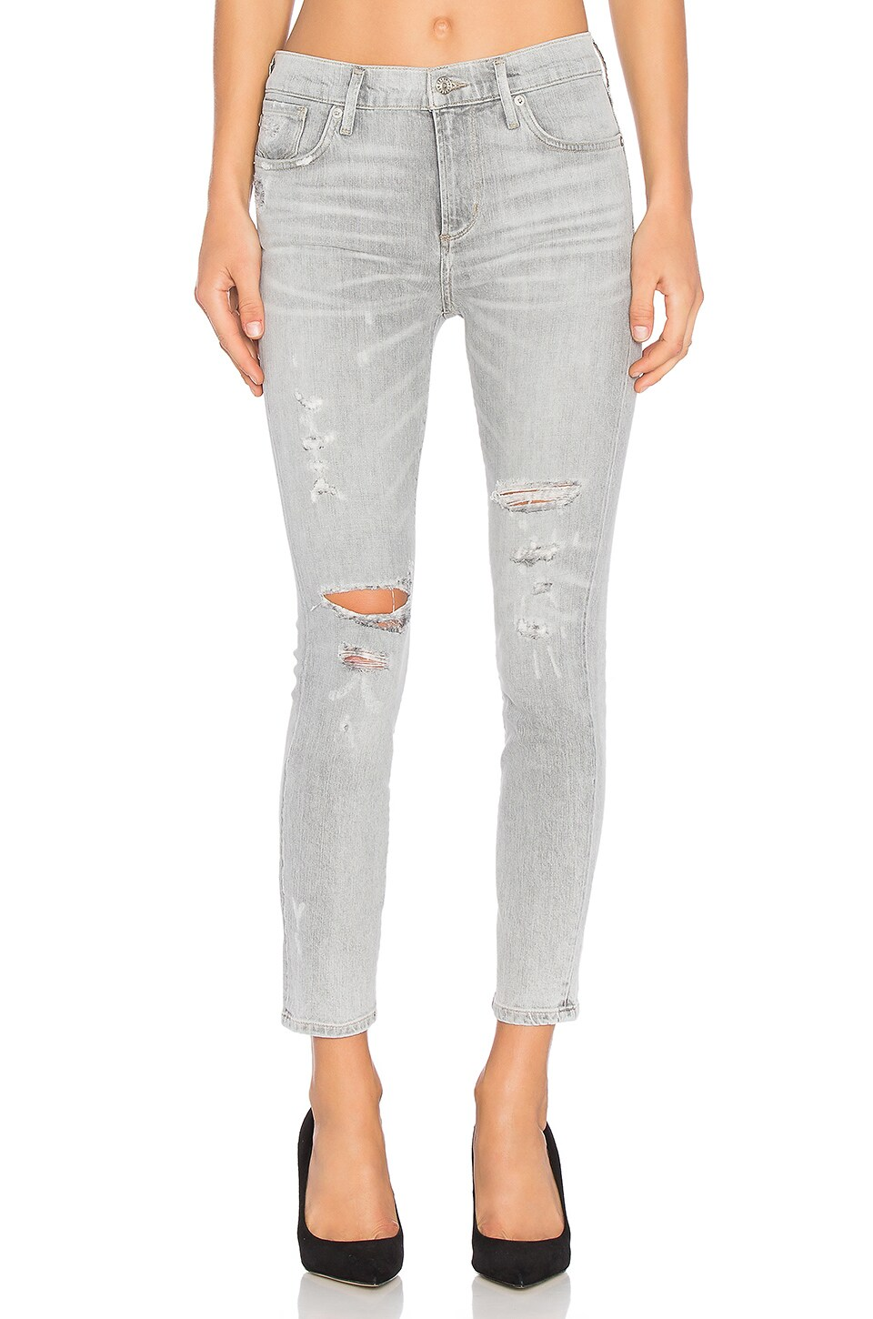 Sophie High Rise Crop Skinny