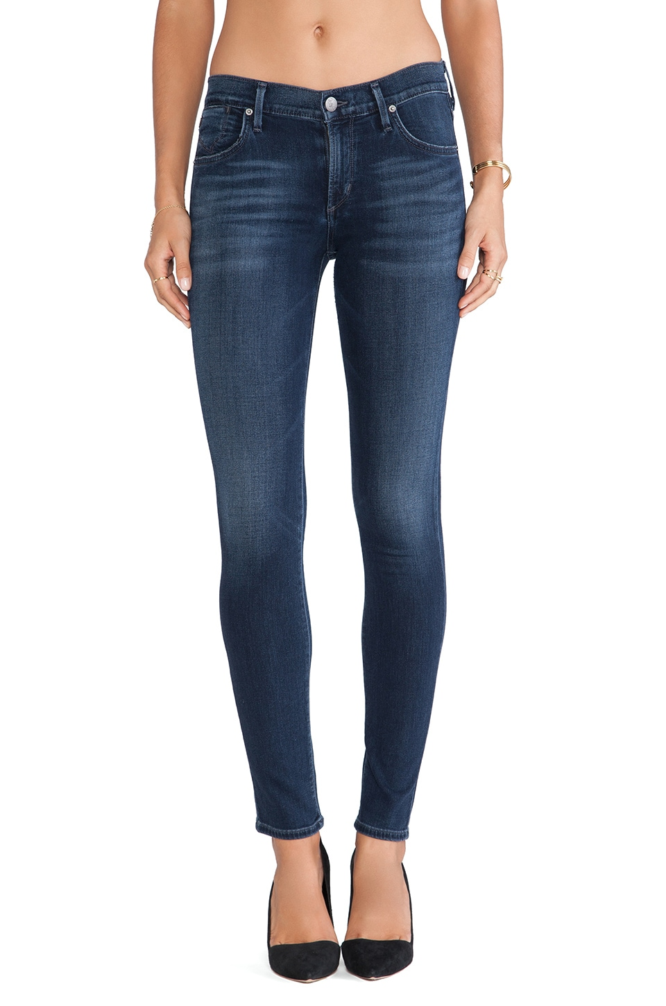 AGOLDE A Gold E Colette Skinny in Onasis