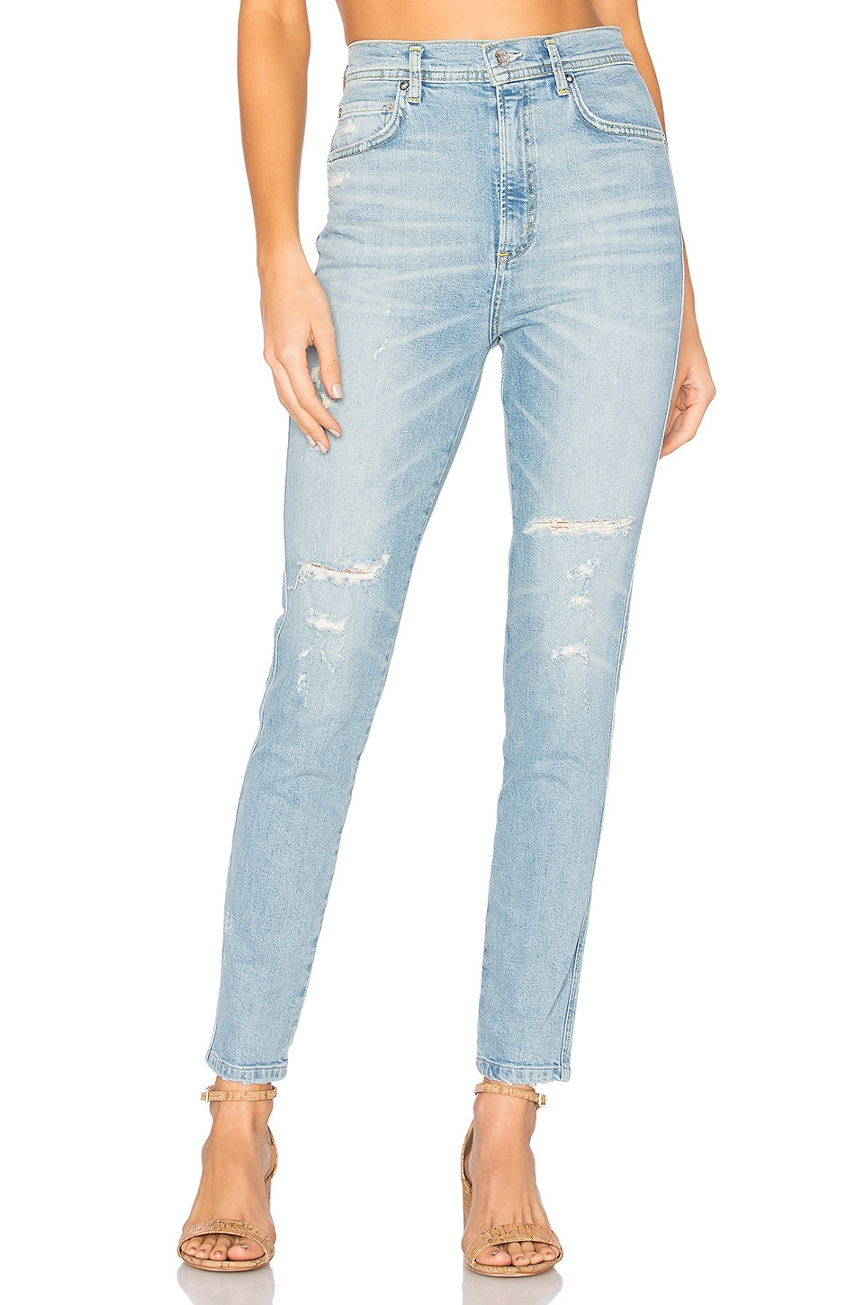 Roxanne Super High Rise Skinny by AGOLDE