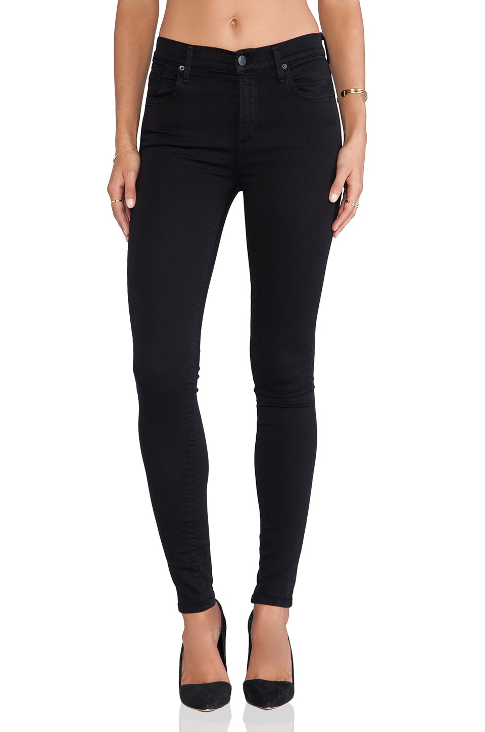 AGOLDE A Gold E Sophie Skinny in Luxe