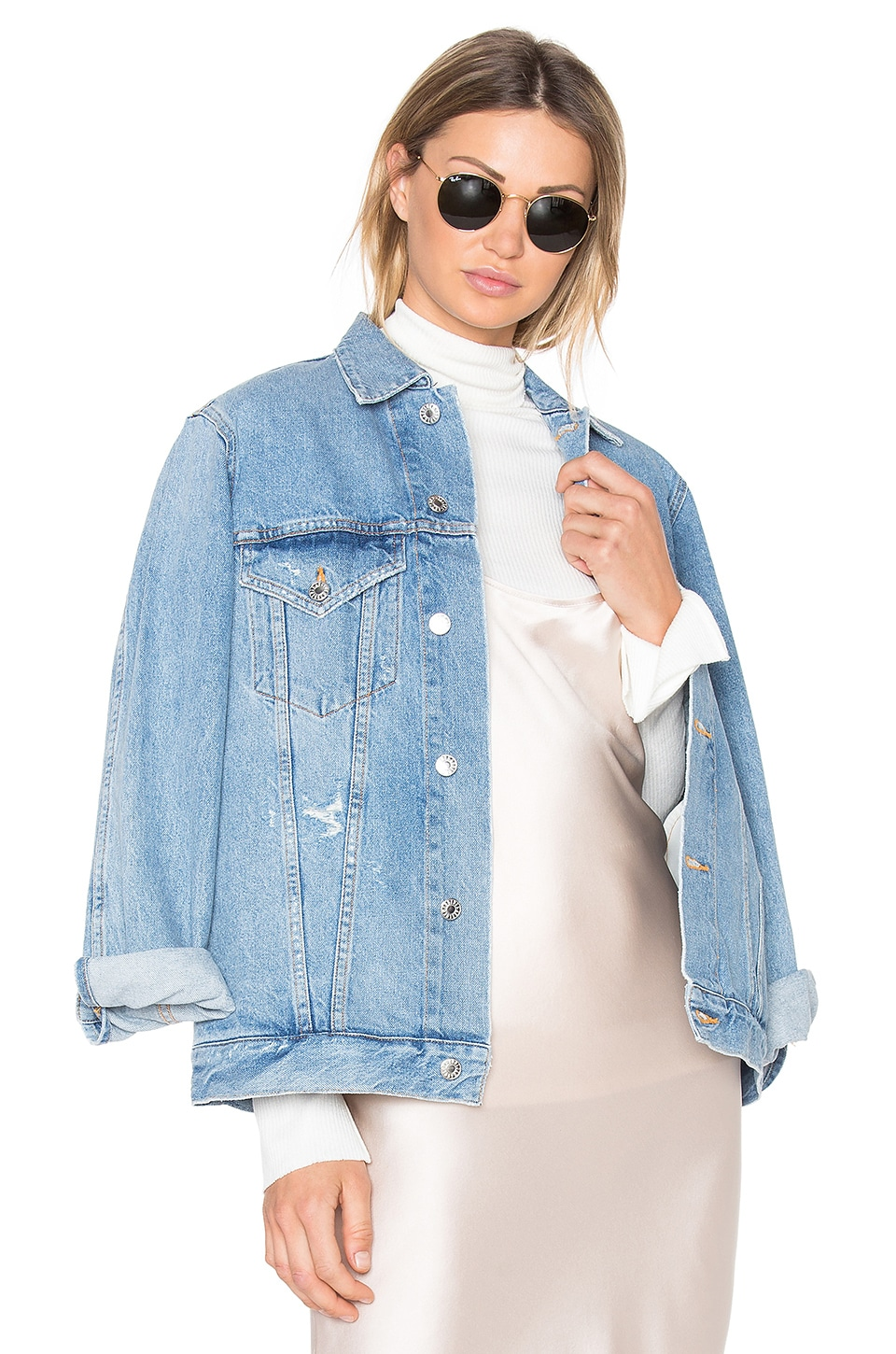 AGOLDE Jessie Denim Jacket in Brooklyn