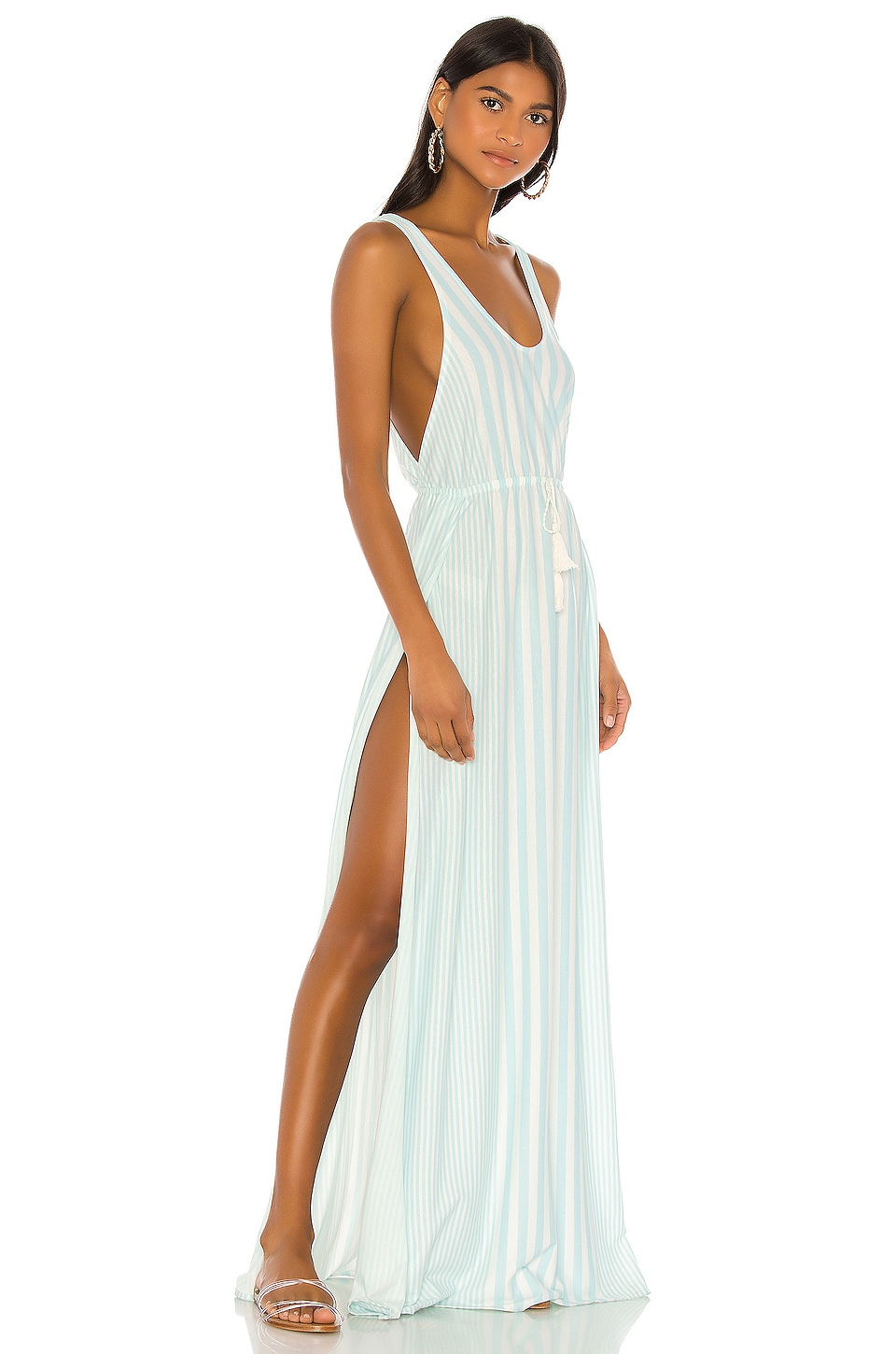 Agua Bendita X REVOLVE Leslie Maxi Dress in Pool