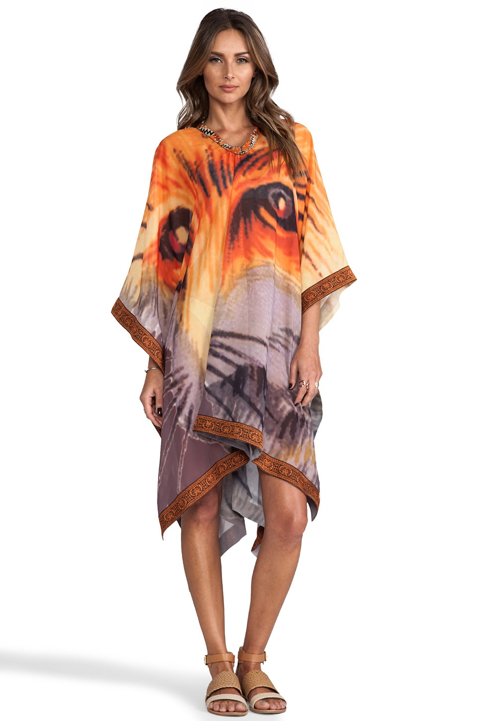 Agua Bendita Time to be Wild Lobo Tunic in Wild Animal