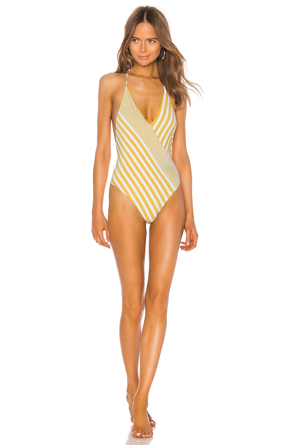 Agua Bendita Lucia One Piece in Sunny Spring