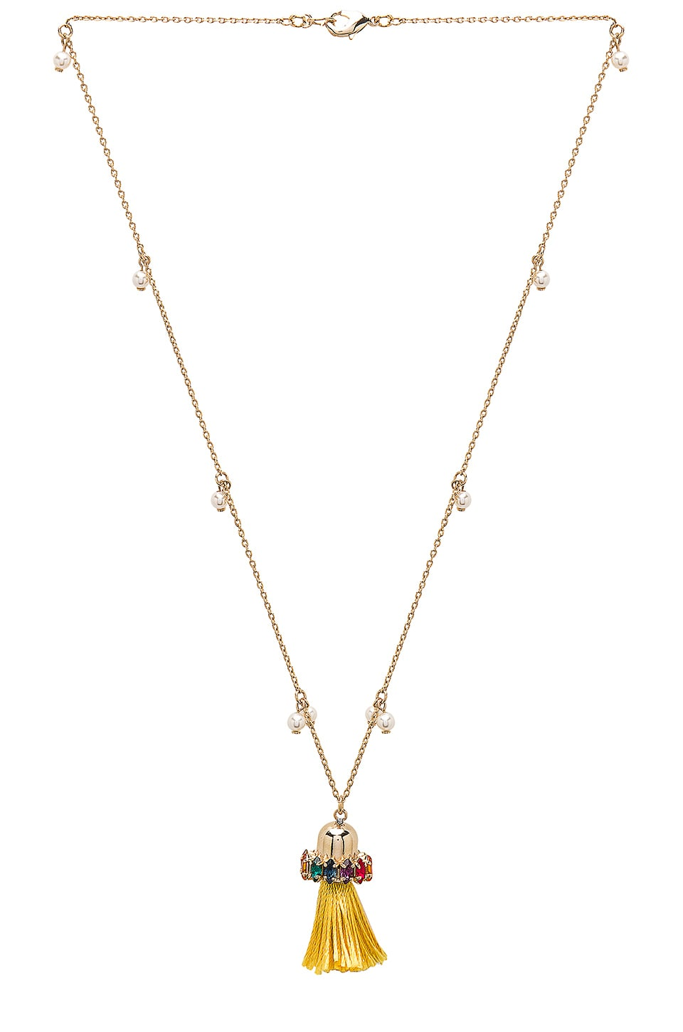 Tassel Pendant Necklace by Anton Heunis