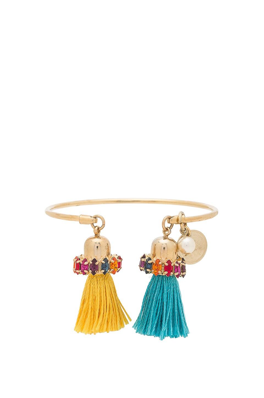 Thin Tassel Cuff Bracelet by Anton Heunis