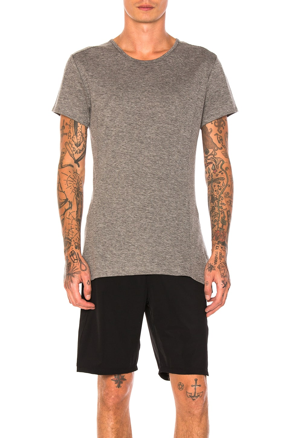 Wool/Cotton Blend Tee by Athletic Propulsion Labs: APL