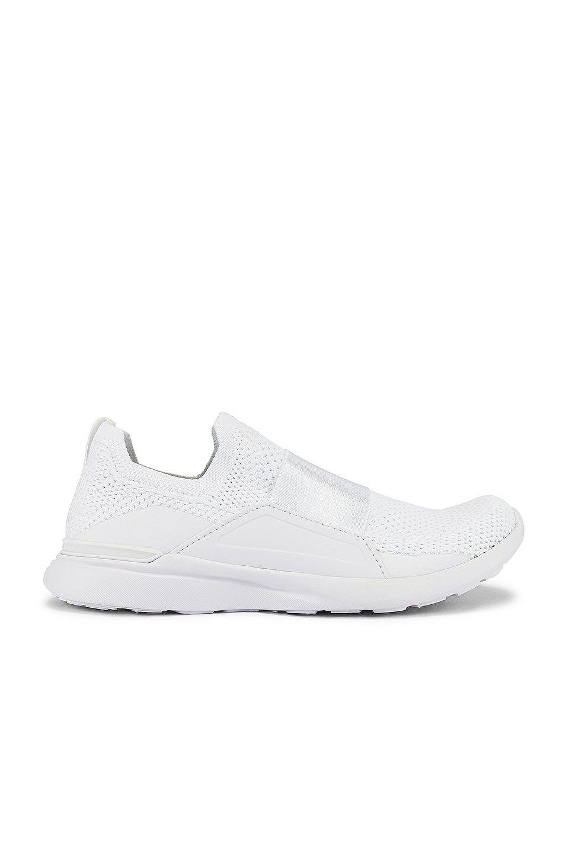 APL: Athletic Propulsion Labs TechLoom Bliss Sneaker in White & White