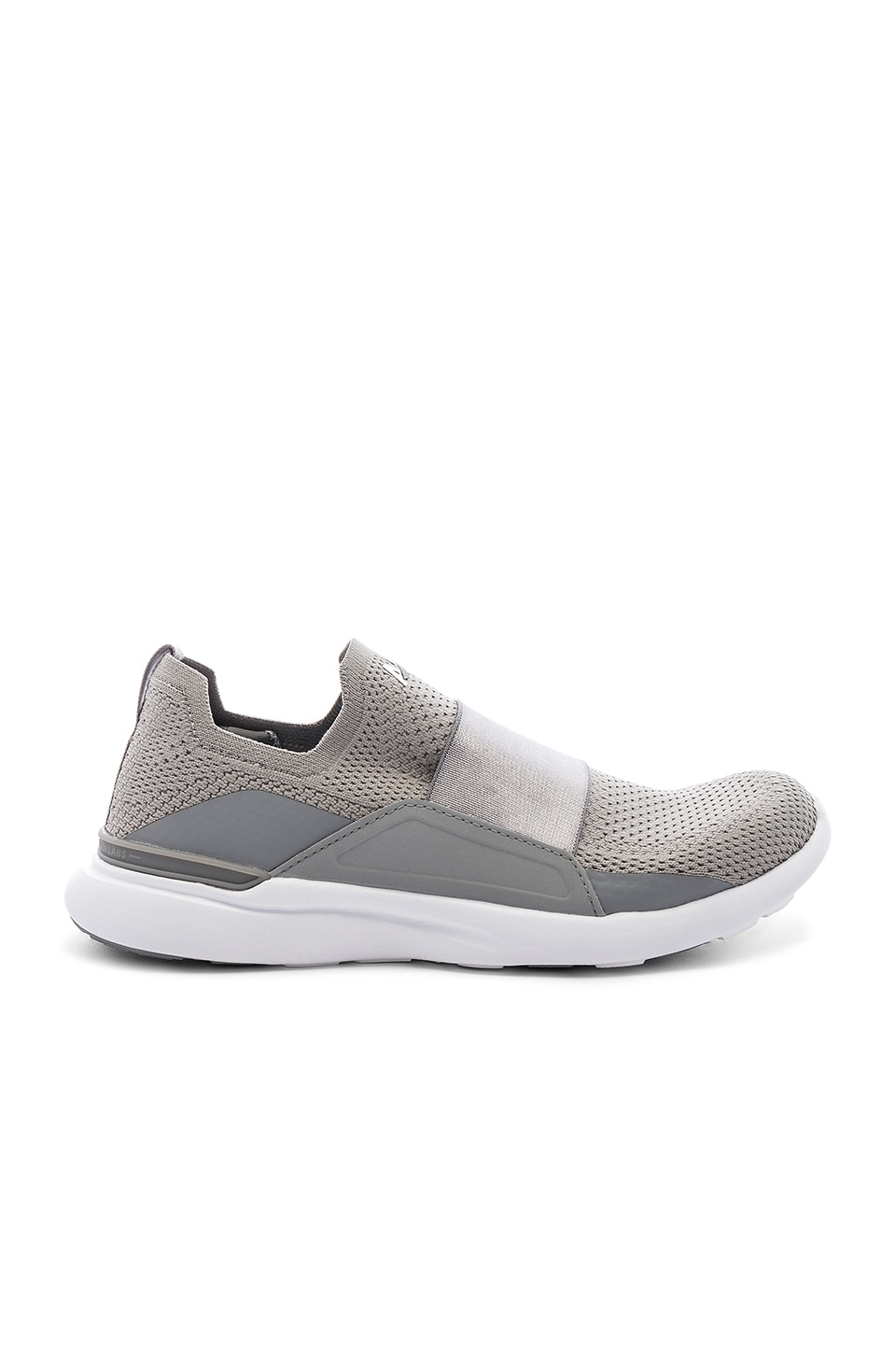 APL: Athletic Propulsion Labs Techloom Bliss Sneaker in Cement & White