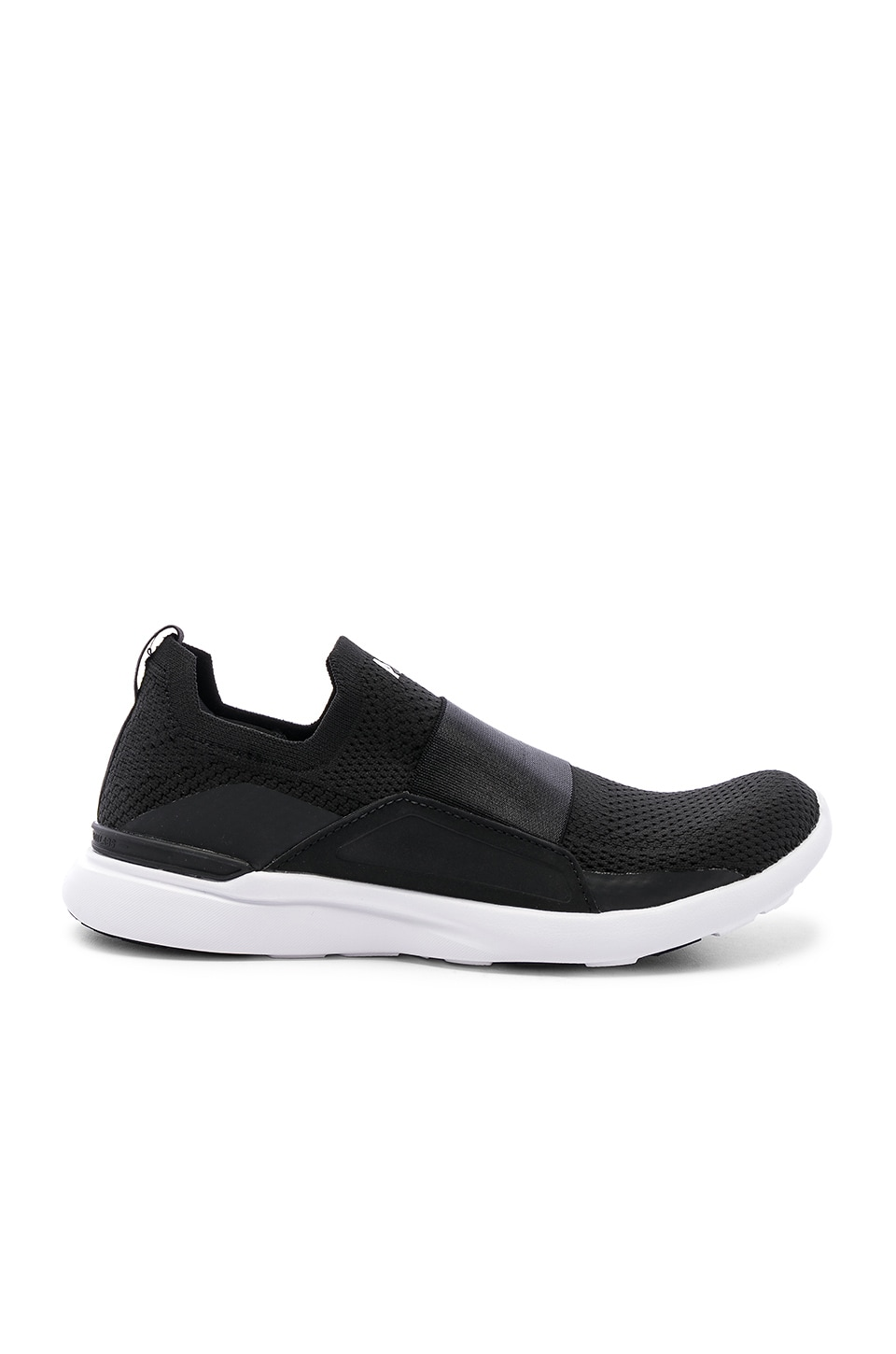 APL: Athletic Propulsion Labs Techloom Bliss Sneaker in Black & White