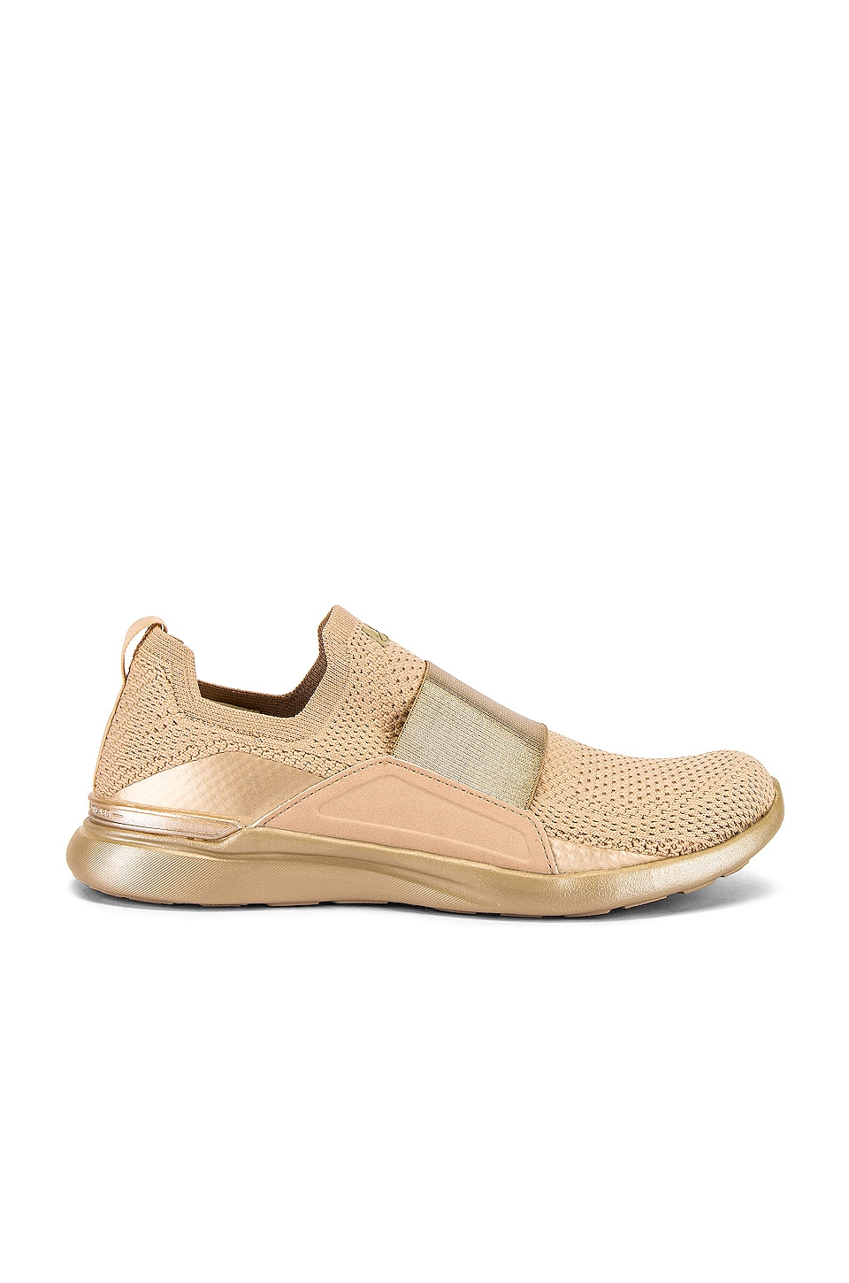 APL: Athletic Propulsion Labs TechLoom Bliss Sneaker in Champagne