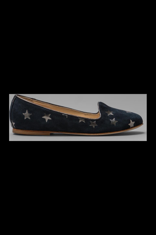 Anniel Loafer Stars in Dark Blue Grey
