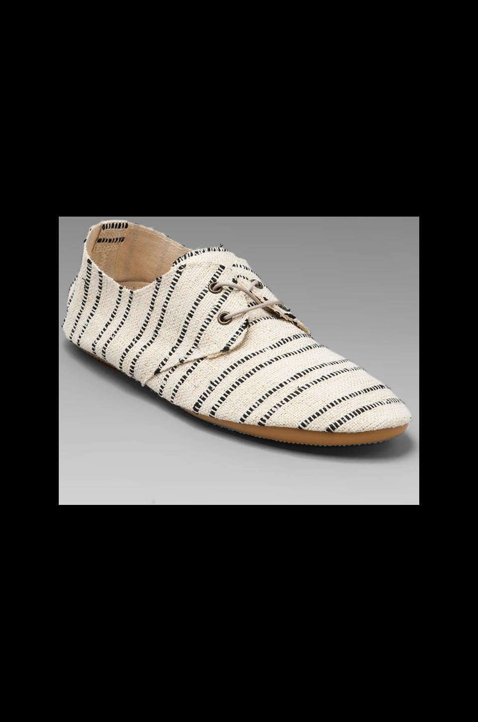 Anniel Soft Lux in Cream/Black Stripe