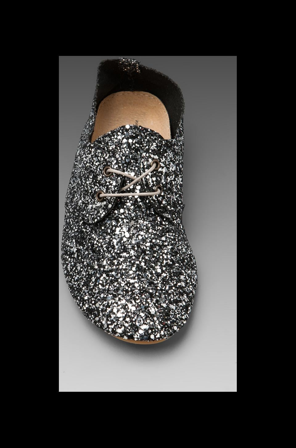 Anniel Soft Lux in Glitter Black