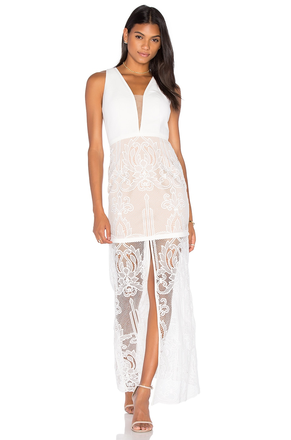 Tatiana Embroidered Maxi Dress by aijek