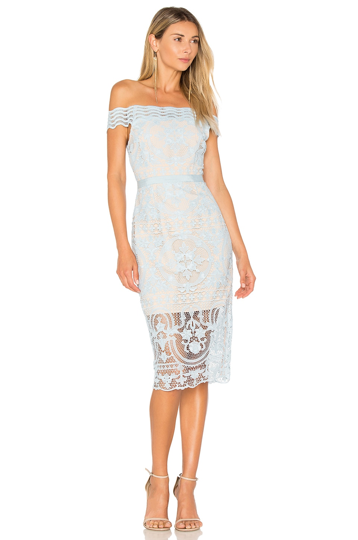 Padua Off Shoulder Dress by aijek
