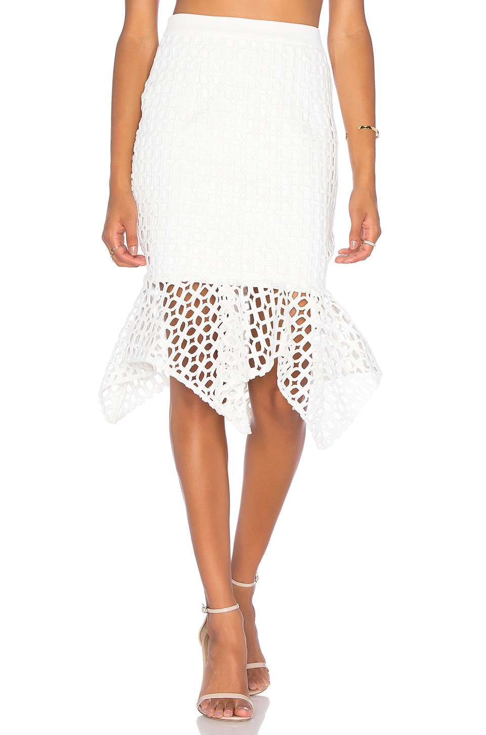 Doubleday Embroidered Handkerchief Skirt by aijek