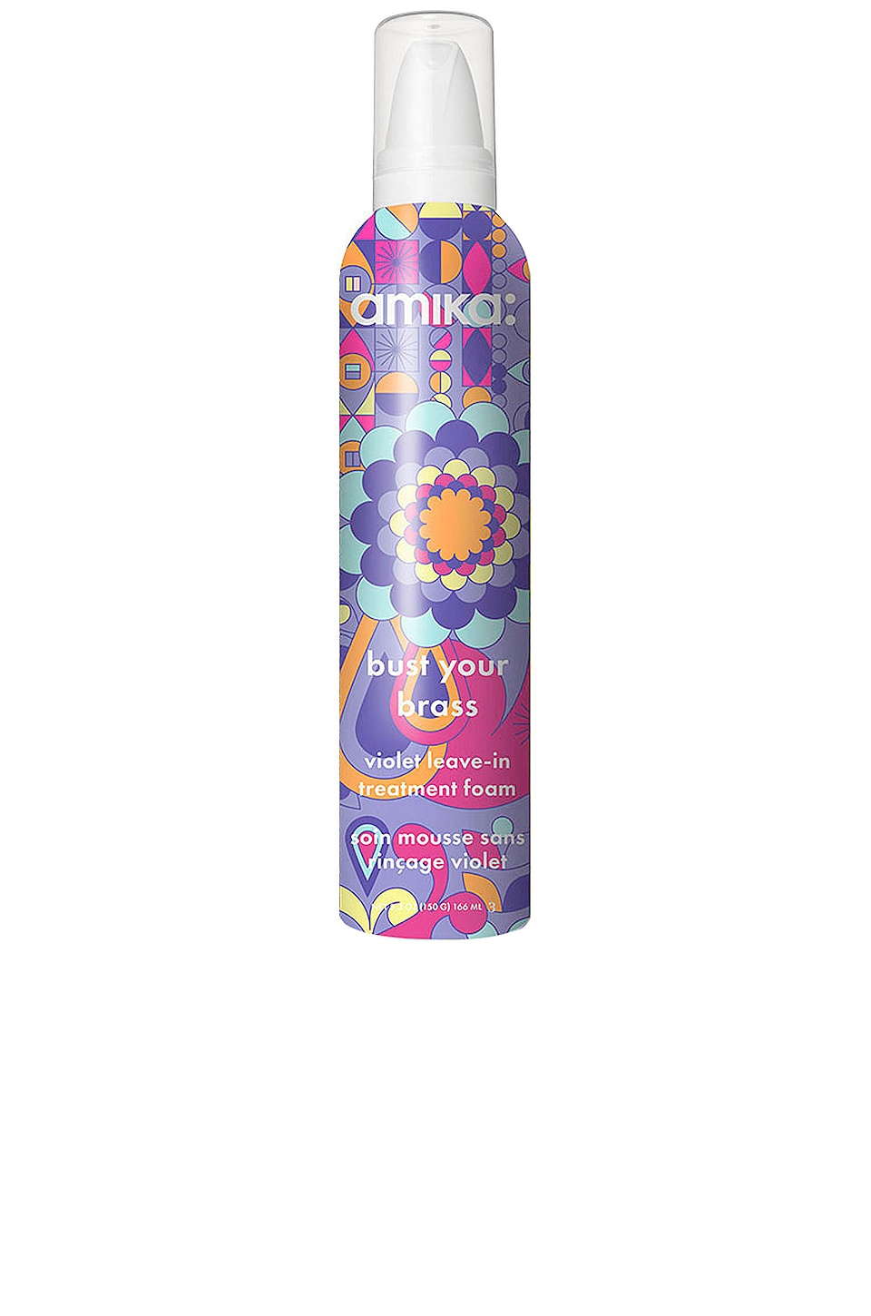 AMIKA BUST YOUR BRASS VIOLET LEAVE-IN FOAM