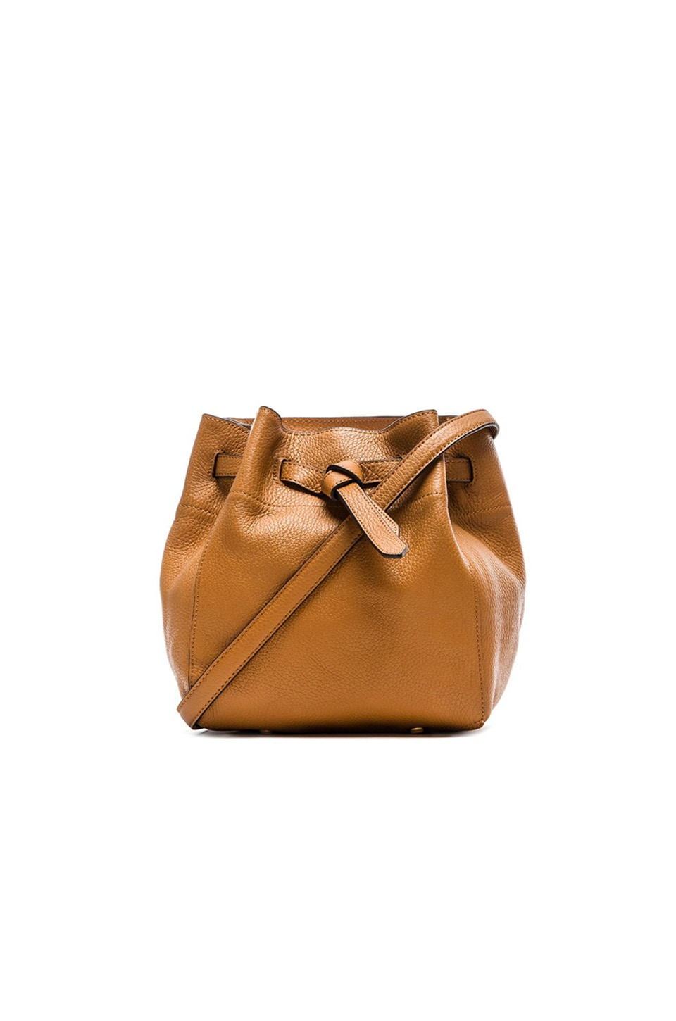 Annabel Ingall Georgia Bucket Bag in Toffee