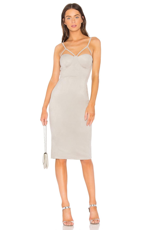 Suede Midi Dress