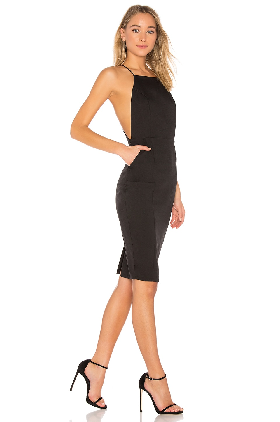 AIRLIE Isolla Dress in Black