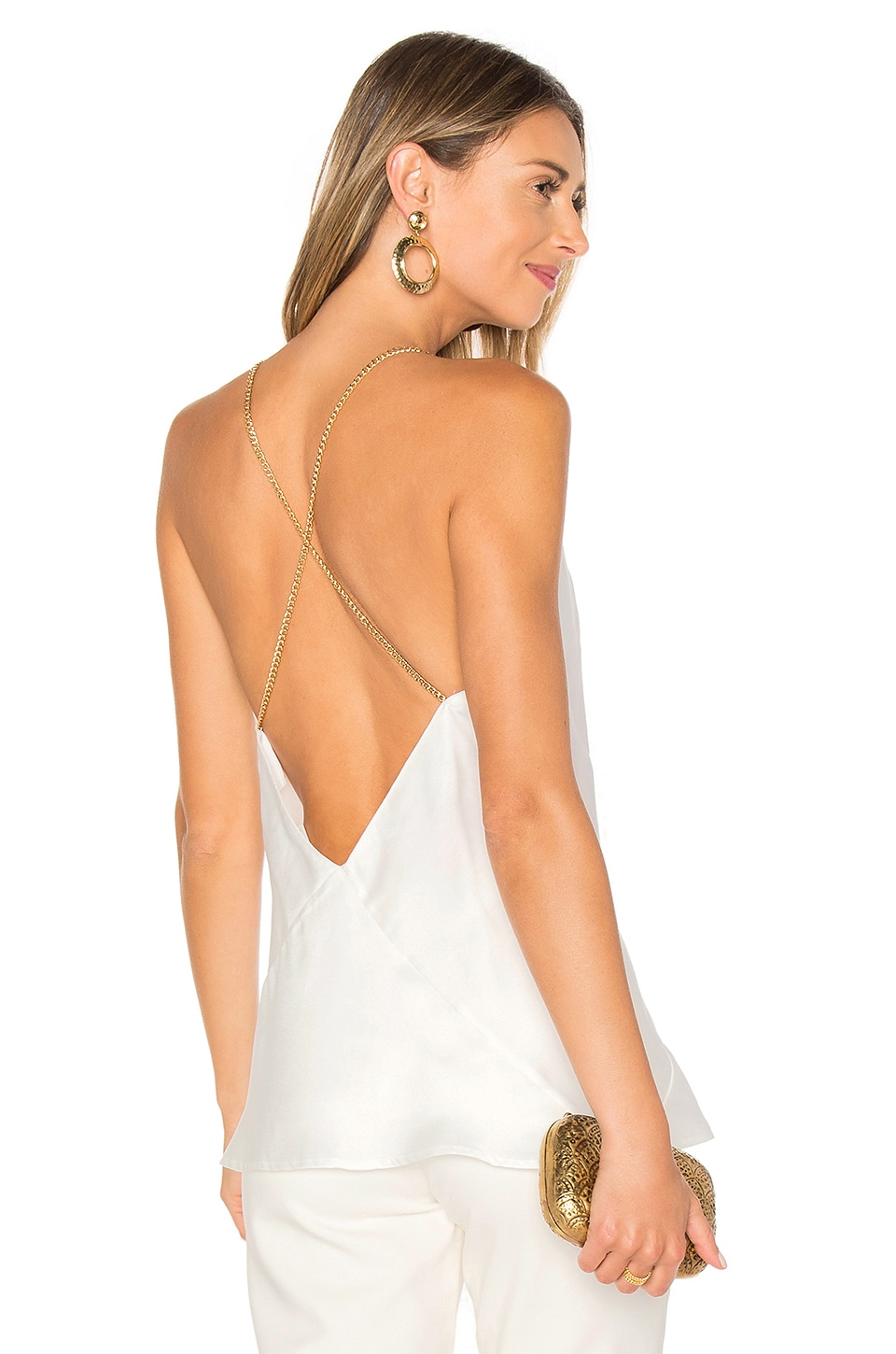 AIRLIE Silana Cami in White