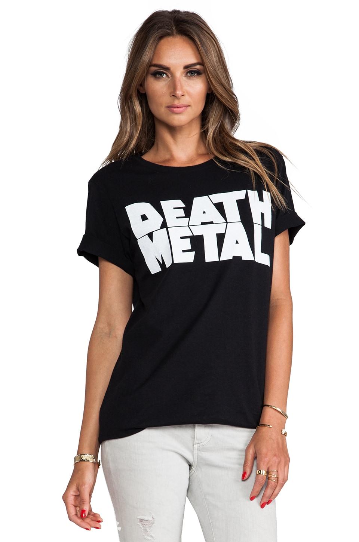 AJL Madhouse Death Metal Tee in Black