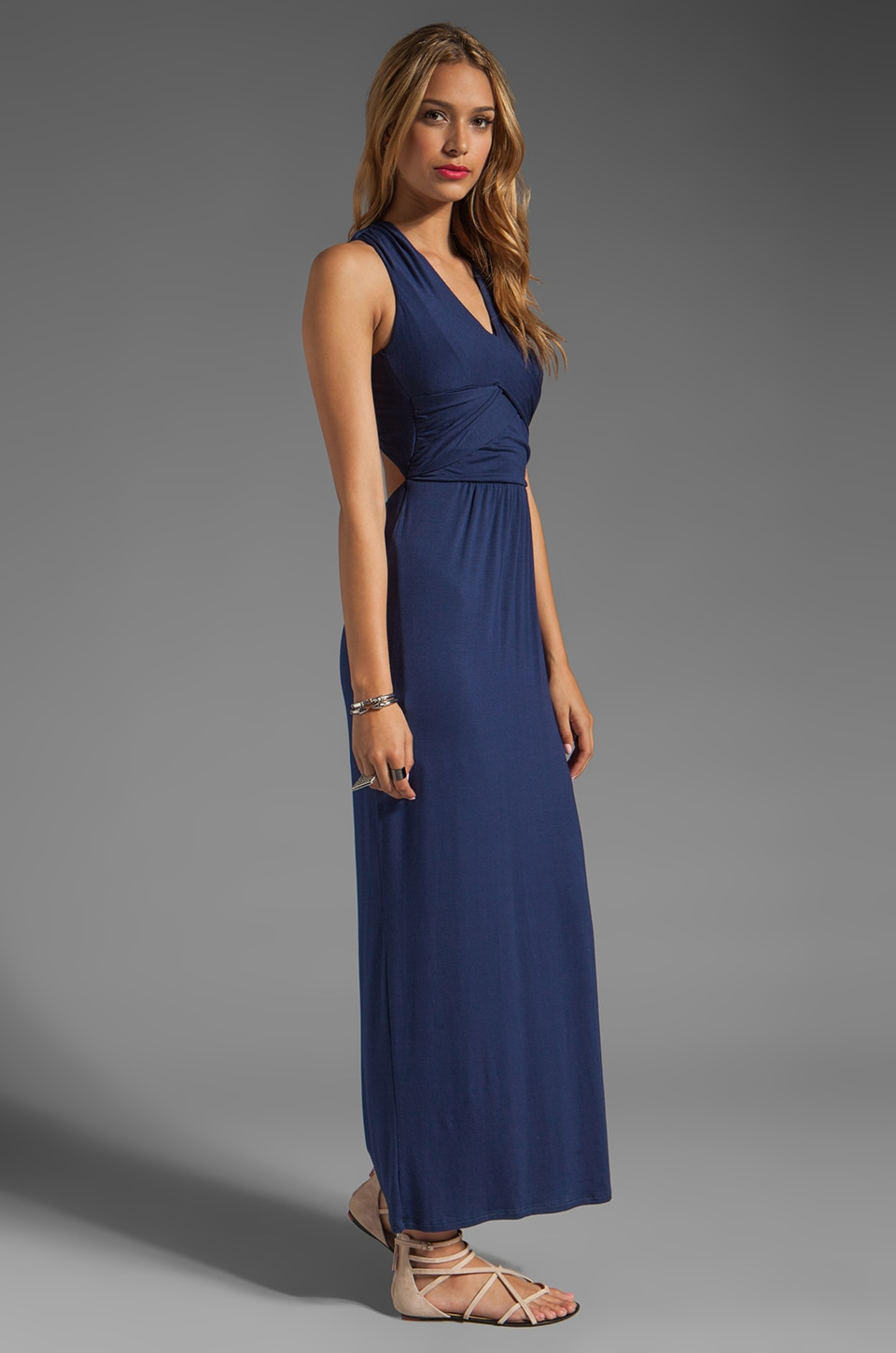 Akiko Cross Back Maxi in Ocean
