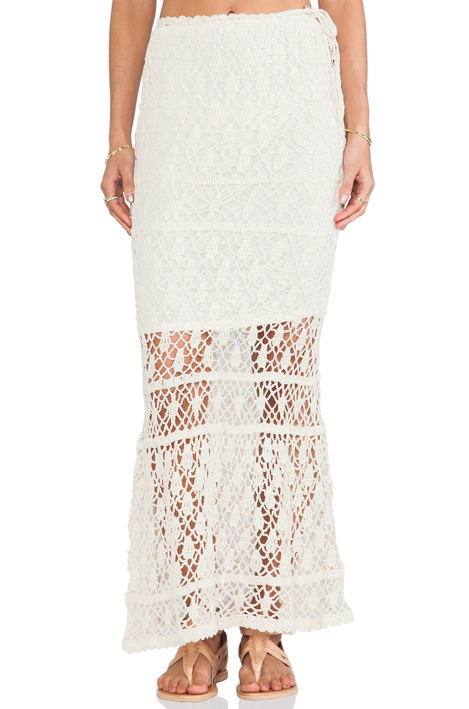 Bianca Maxi Skirt at REVOLVE