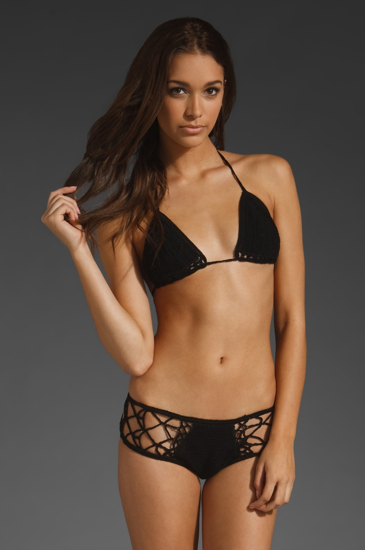 Anna Kosturova Flash Back Bikini in Black