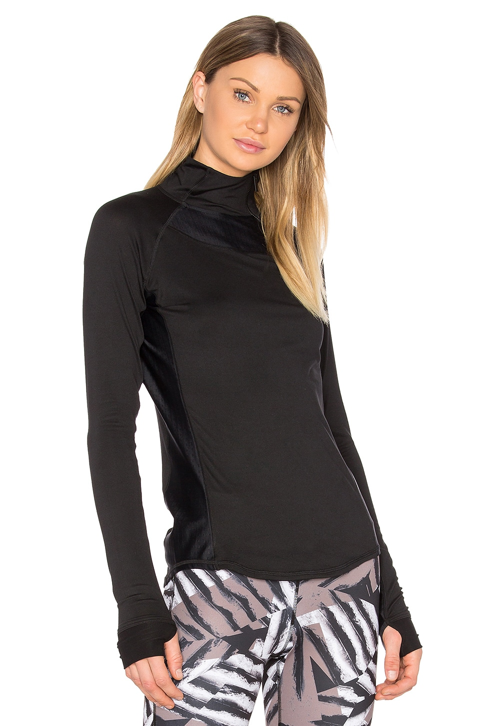 Charge 1/4 Zip Top by Alala