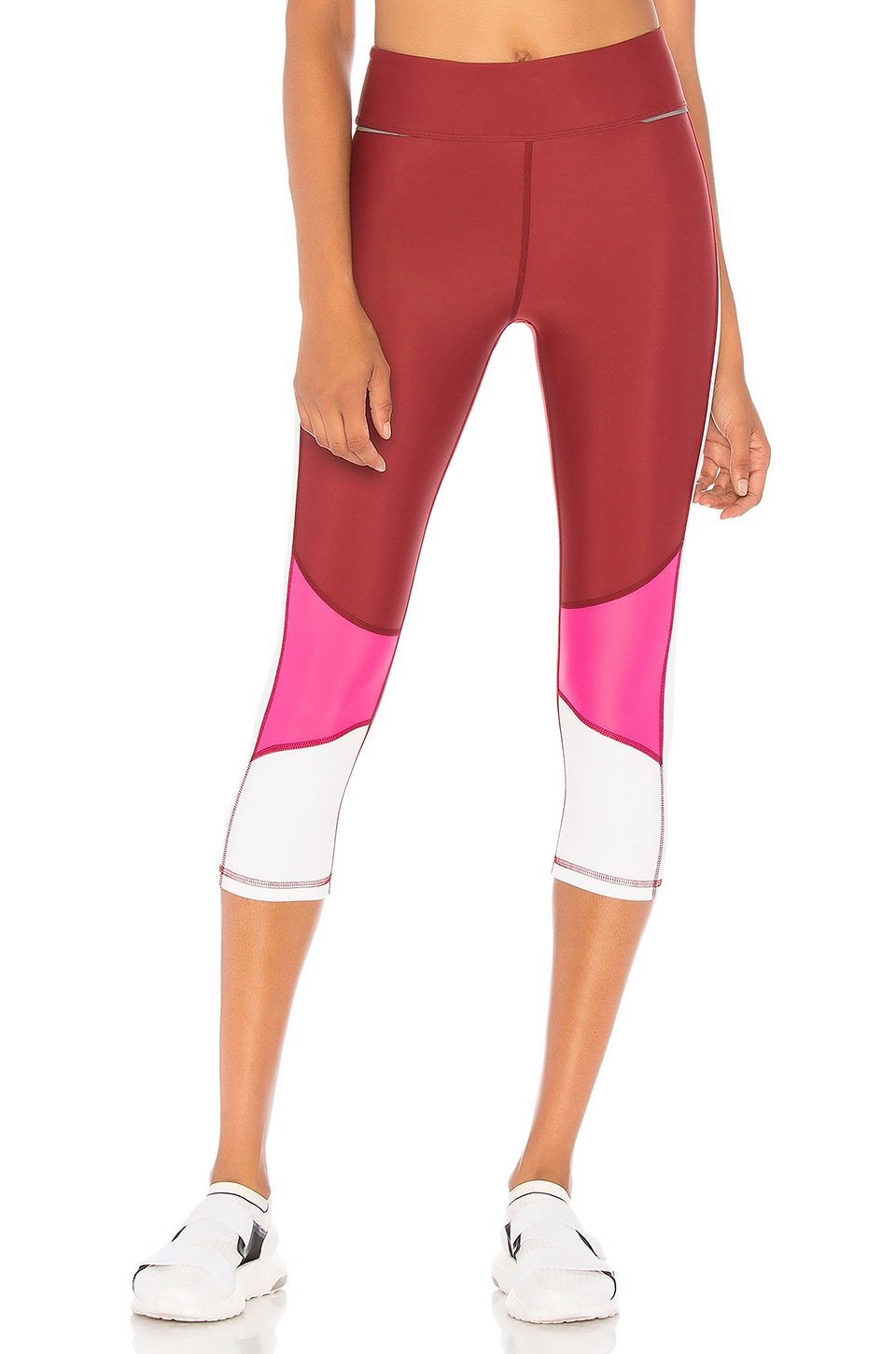 BLOCKED CROP LEGGING