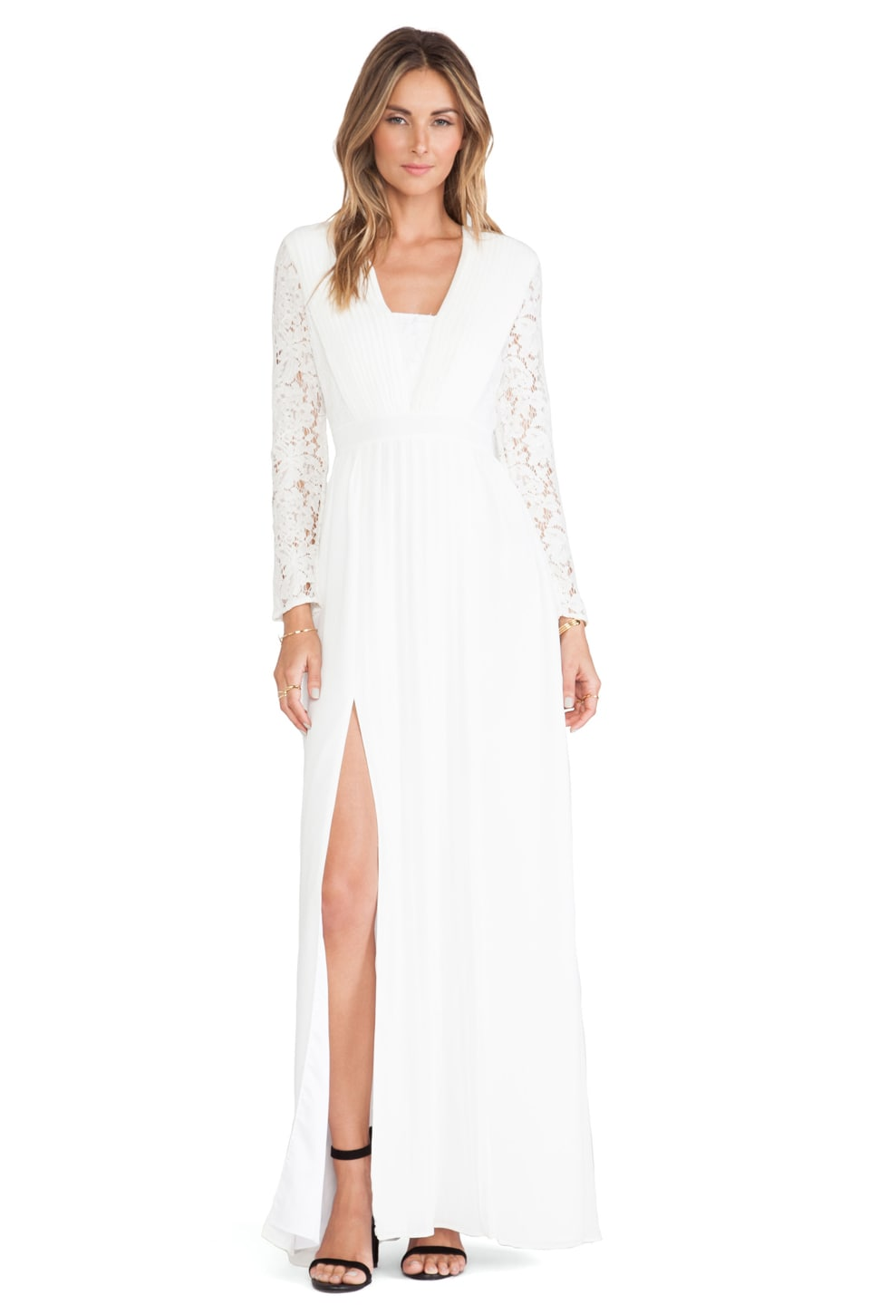 Alice by Temperley Long Macey Dress in White
