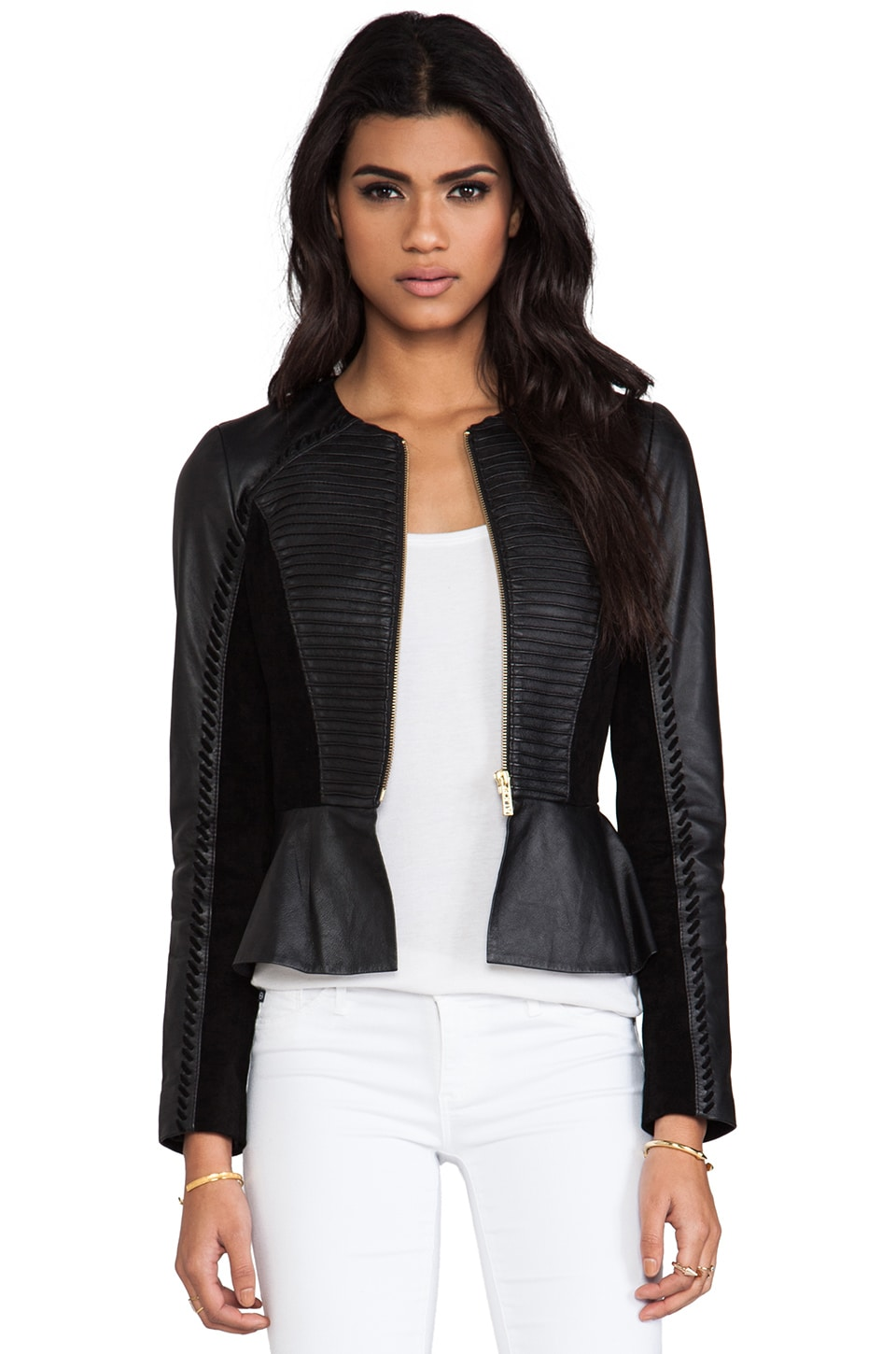 Alice by Temperley Giovanni Jacket in Black Mix