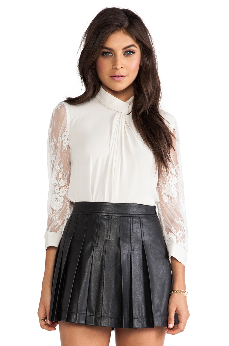 Alice by Temperley Regalia Blouse in Cream