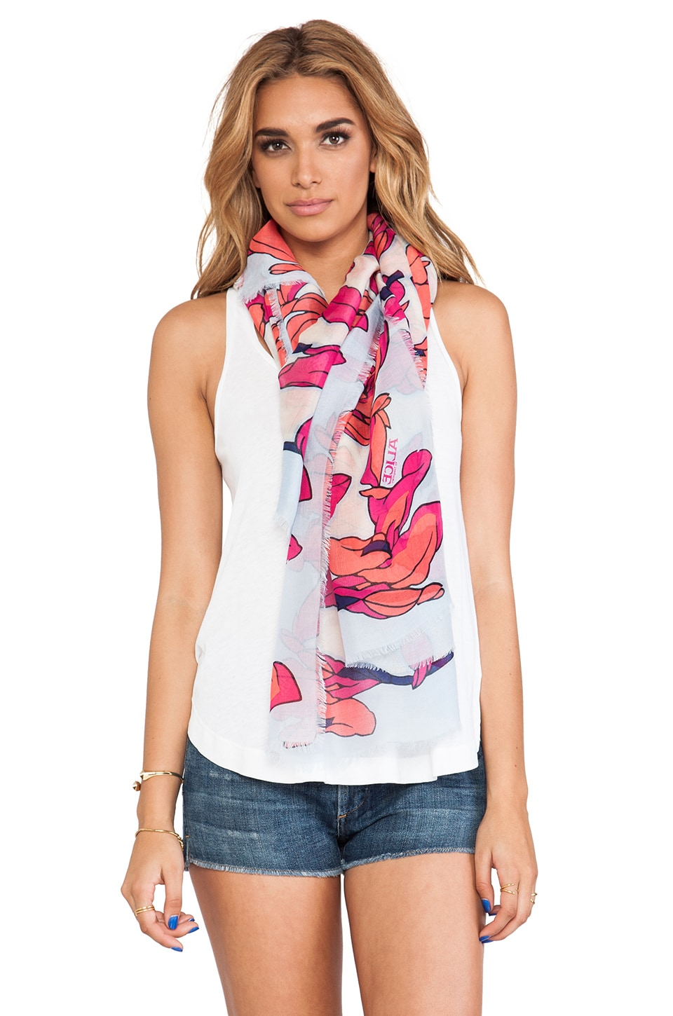 Alice by Temperley Sylvia Scarf in Red Mix