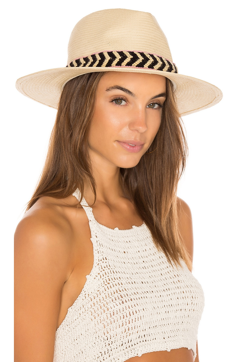 ale by alessandra Cartagena Hat in Natural