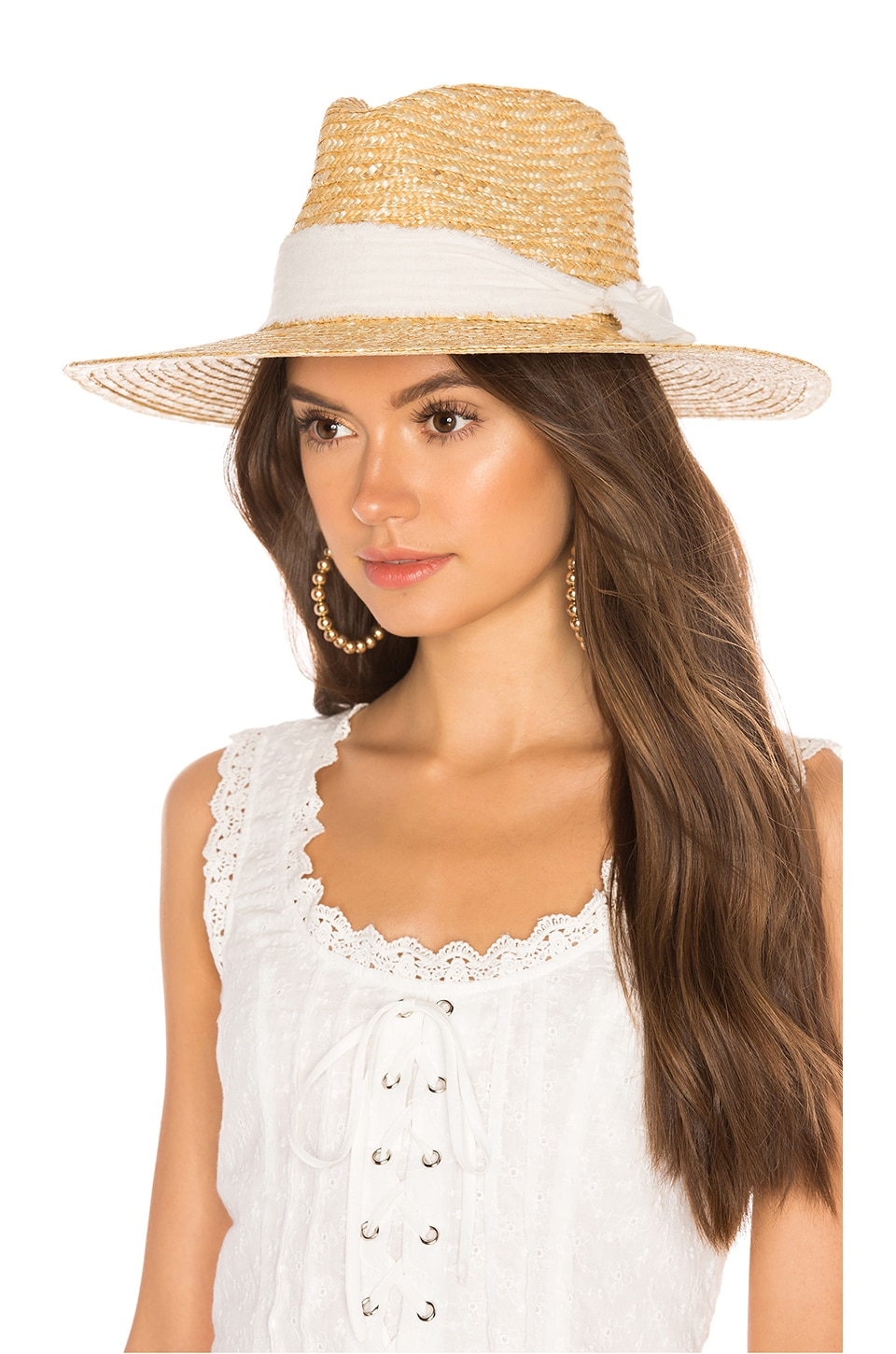 ale by alessandra Solange Hat in Natural