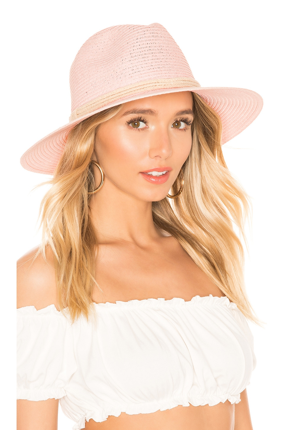ale by alessandra Mariella Hat in Blush