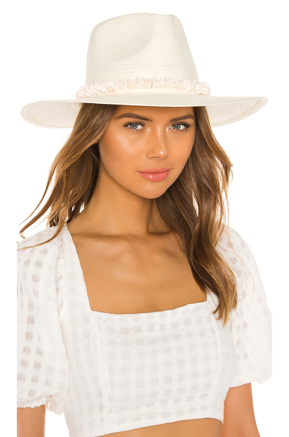 ale by alessandra x REVOLVE Lani Hat in Off White & Puka