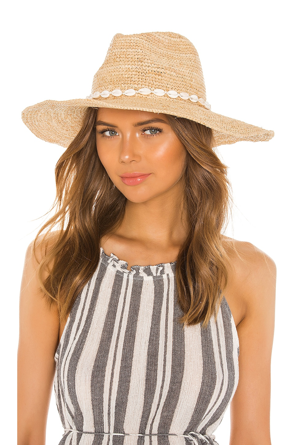 ale by alessandra x REVOLVE Kai Hat in Natural & White